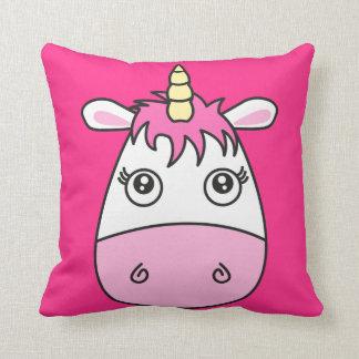 Cute Pink Unicorn Pillow Cushion