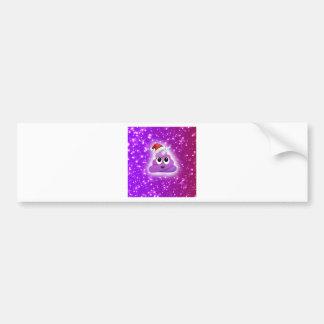 Cute Pink Unicorn Poop Emoji Postcard Bumper Sticker