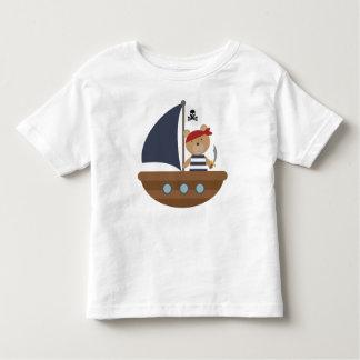 Cute Pirate Bear Pirates Ship Tshirt