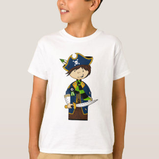 Cute Pirate Captain Tee