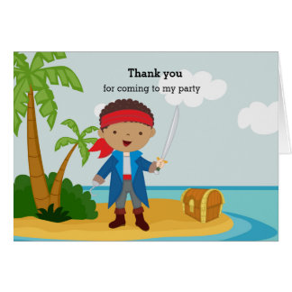 Cute Pirate Card