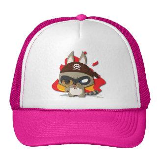 Cute Pirate Funny Cartoon Character Slingshot Hat