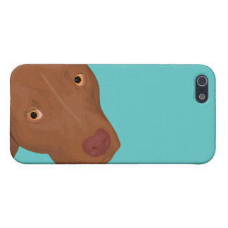 Cute Pit Bull portrait iPhone 5 Cover