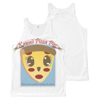 Cute Pizza All-Over Print Tank Top