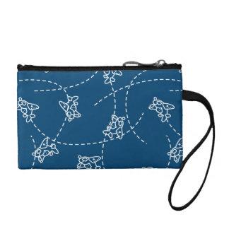 Cute planes coin purse