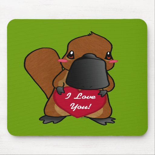 Cute Platypus Mousepad