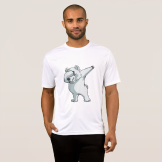 Cute Polar Bear Dabber Dance T-Shirt