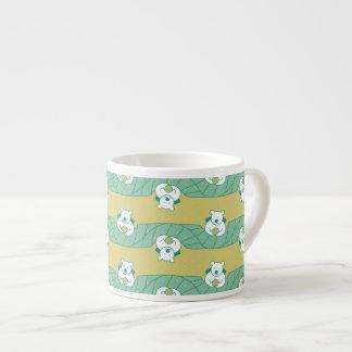 Cute Polar Bear Tea Break Pattern Espresso Mug
