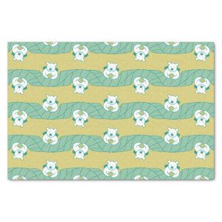 Cute Polar Bear Tea Break Pattern Tissue Paper