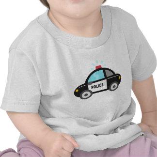Cute Police Car with Siren T-shirt