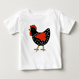 Cute Polka Dot Chicken Baby T-Shirt