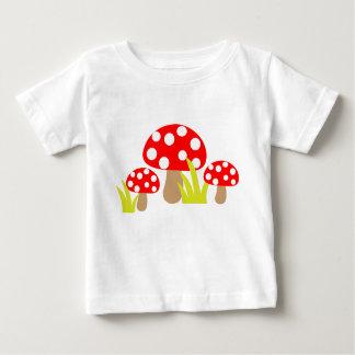 Cute Polka Dot Mushroom - Baby t-shirt