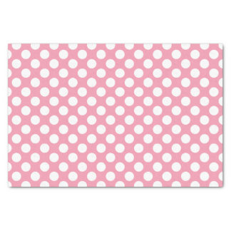 Cute Polka Dot Pattern with White Dots Tissue Paper