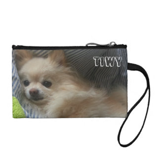 Cute Pomeranian Coin Bag
