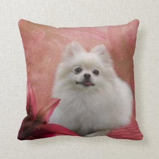 Cute Pomeranian Dog American MoJo Pillow Cushions