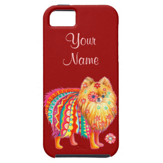 Cute Pomeranian iPhone 5 Case iPhone 5 Case