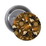 Cute Poncho Cowboy Badge Pin