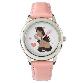 Cute Pony Cartoon Watches