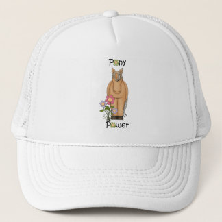 Cute Pony Power Horse Trucker Hat