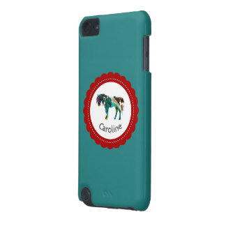 Cute Pony with Blue and Red iPod Touch 5G Case