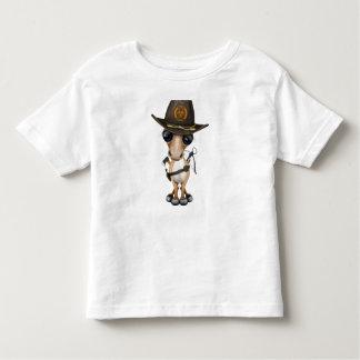 Cute Pony Zombie Hunter Toddler T-Shirt
