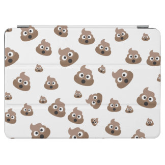 Cute Poop Emoji Pattern iPad Air Cover