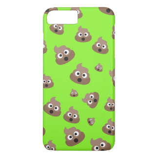 Cute Poop Emoji Pattern iPhone 7 Plus Case
