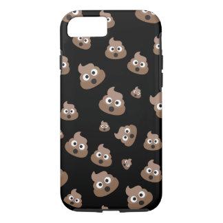 Cute Poop Emoji Pattern iPhone 8/7 Case