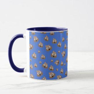 Cute Poop Emoji Pattern Mug