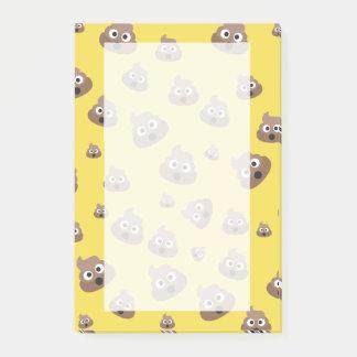 Cute Poop Emoji Pattern Post-it Notes
