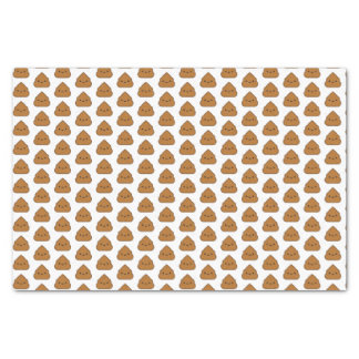 Cute Poop Pattern Tissue Paper