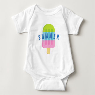 Cute popsicle custom baby bodysuit for newborn