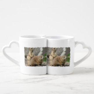 Cute Prairie Dog Lovers Mug Set