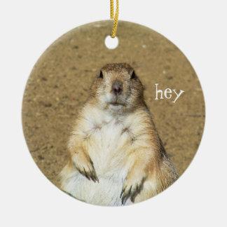 Cute Prairie Dog Ornament