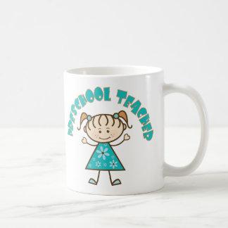 Cute Preschool Teacher Coffee Mugs