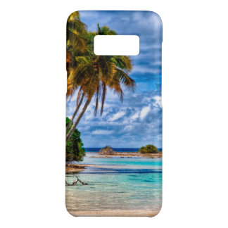Cute Pretty Summer Hawaiian Beach Watercolor Case-Mate Samsung Galaxy S8 Case