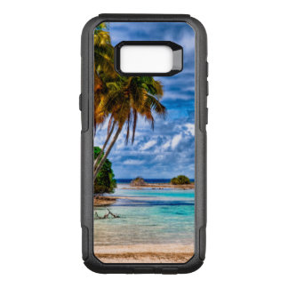 Cute Pretty Summer Hawaiian Beach Watercolor OtterBox Commuter Samsung Galaxy S8+ Case