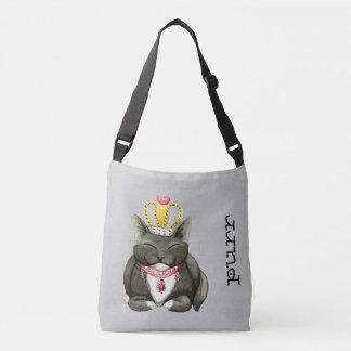 Cute Princess Kitty Cross Body Bag