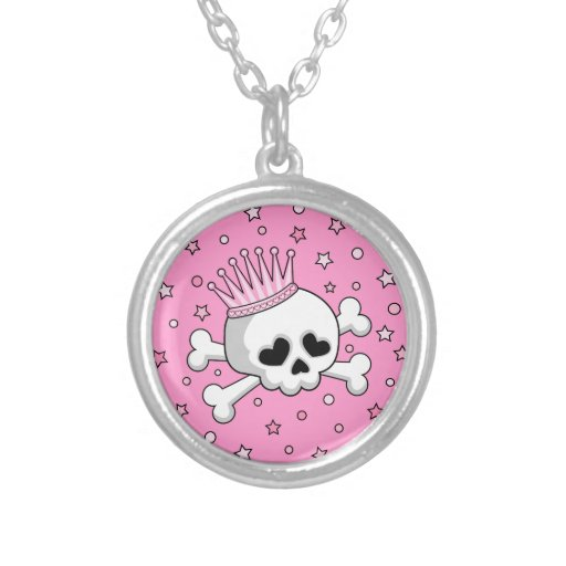 Cute Princess Skull Jewelry