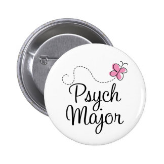 Cute Psych Major Gift 6 Cm Round Badge