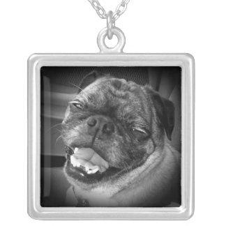 Cute Pug Dog Necklace