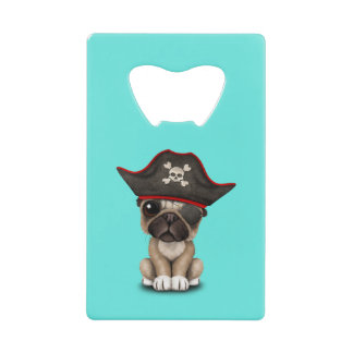 Cute Pug Puppy Pirate
