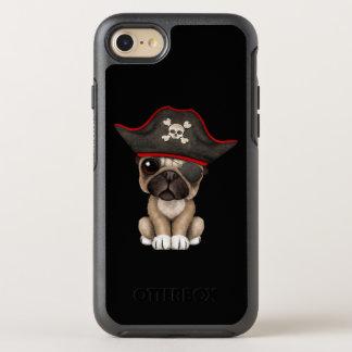 Cute Pug Puppy Pirate OtterBox Symmetry iPhone 8/7 Case