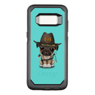 Cute Pug Puppy Zombie Hunter OtterBox Commuter Samsung Galaxy S8 Case