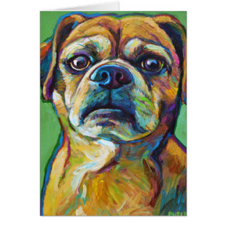 Cute PUGGLE Card