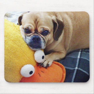 Cute Puggle Mousepad