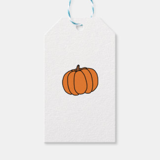 CUTE PUMPKIN DOODLE GIFT TAGS