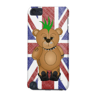Cute Punk Rock Teddy Bear Cartoon Animal iPod Touch (5th Generation) Covers