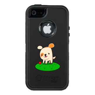 Cute puppy cartoon OtterBox defender iPhone case