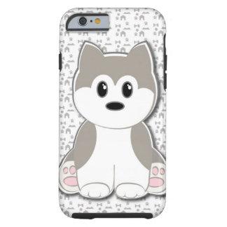 Cute puppy cartoon tough iPhone 6 case